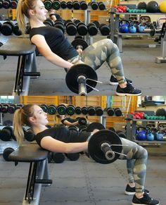 hip thrust Hip Thrust, Gym Equipment, Health Fitness, Workout Equipment, Fitness, Health And Fitness