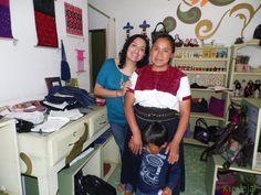 De esos días cuando las artesanas nos visitan desde lugares como San Andrés Larráinzar.