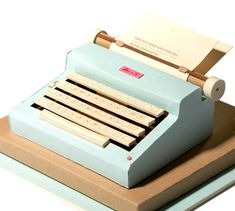 How to make a paper typewriter