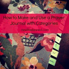 Make your own prayer journal