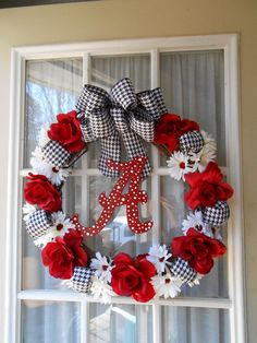 Cute Bama wreath