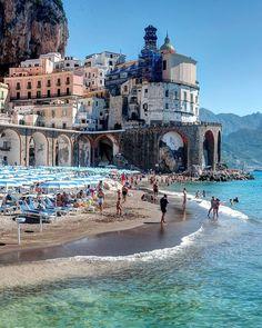 Atrani ❤🍃🌼 Italy Congrats @gennaro_rispoli Use #map_of_europe #Italia