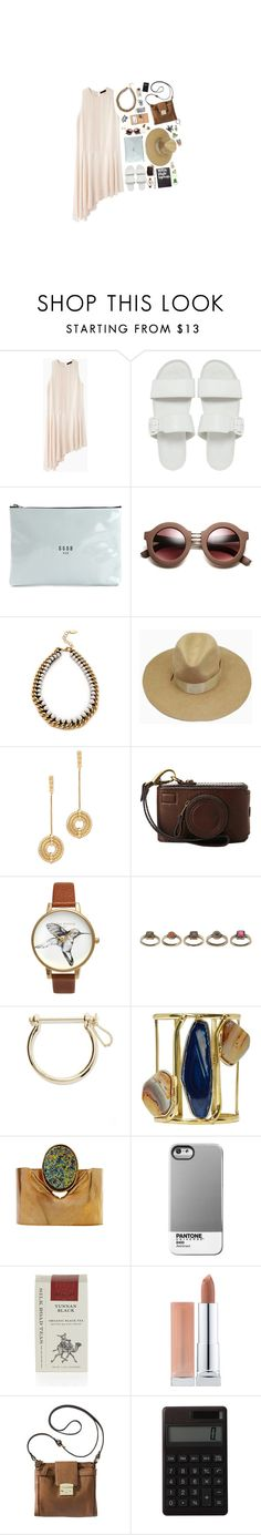 """Sylvan"" by jetra13 ❤ liked on Polyvore featuring The Row, Vagabond, Golden Goose, Adia Kibur, Louis Vuitton, Lara Bohinc, Olivia Burton, ASOS, Noir Jewelry and Case Scenario"