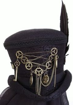 Another steampunk top hat                                                                                                                                                                                 More