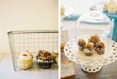 cupcake trailer display