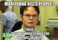 Marijuana Kills People