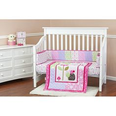 Found it at Wayfair - Spring Time 3 Piece Crib Bedding Set