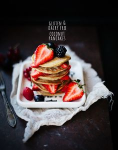 Coconut Pancakes - yum!