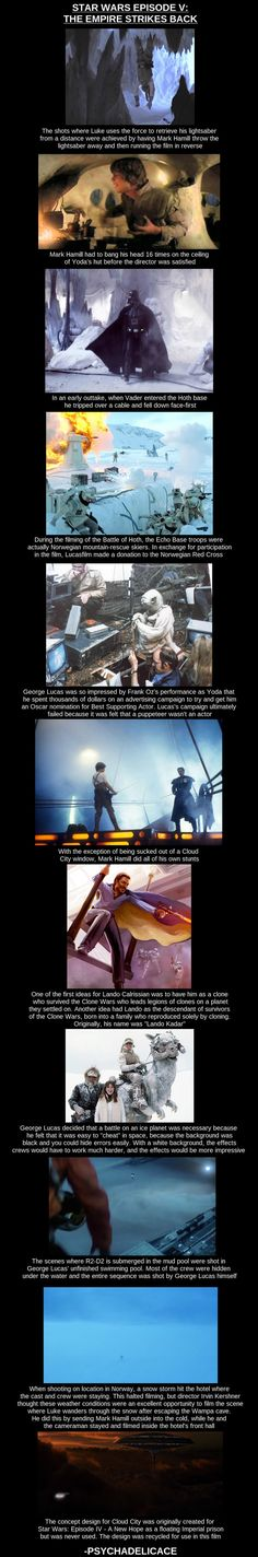 Star Wars facts.