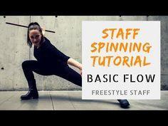 BASIC FLOW - Video 1/5- BEGINNER Staff Manipulation Tutorial Series - YouTube