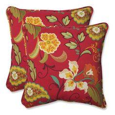 Pillow Perfect Tamariu Alfresco Valencia Indoor/Outdoor Throw Pillow