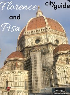 Florence and Pisa City Guide for Girls - Safe places to stay, the duomo, Academia Gallery, Uffizi Gallery, Leaning tower of Pisa, Piazalle Michelangelo, and other top places to see. #italy