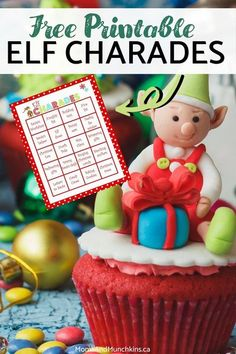 Christmas is not complete without some fun charades! If you're after a super fun Christmas charade, our most popular Elf Charades is a guaranteed crowd favorite! Click here to grab your free printable Elf Charades.
