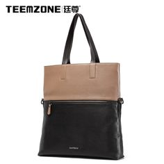 122.13$  Watch now - http://alikj8.worldwells.pw/go.php?t=32758911896 -  2017 Teemzone Brand Handbag Men Shoulder Bags Leather Genuine Business Casual Messenger Bag Men's Cowhide Briefcase Tote Bag