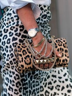 Marc Jacobs skirt & Valentino bag