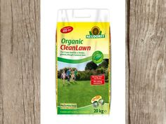 Cleanlawn organic lawn fertiliser is made from natural raw materials, it fertilises the lawn while improving soil and working against moss.