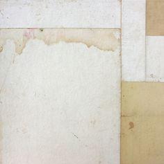 Série Fusion # 3059 - collage sur papier - 12x12 cm