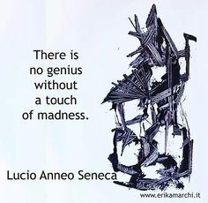 "Quote Lucio Anneo Seneca ""Non è mai esistito ingegno senza un poco di pazzia."" My artwork on the ground Oil and Acrylic on paper https://www.facebook.com/erikamarchipainter www.erikamarchi.it #madeinitaly #art #mood #seneca #aristotele #style #minimal #artist #artmadeinitaly #minimale #blackandwhite #erikamarchi #italy #minimalart #bw #abstract #love #dance"
