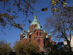 Uspenski Orthodox Cathedral. Photo: Helsinki Tourism Material Bank