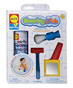 Another great find on #zulily! Tub Shaving Set #zulilyfinds