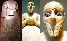 What percentage of ancient Sumerians had blue eyes?