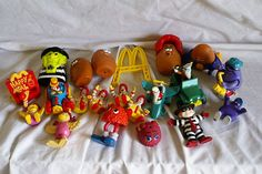 HUGE Lot of Vintage McDonalds Happy Meal Toys and PVC Figures