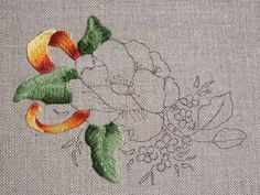 Wooly stitches | A sampling of crewel embroidery techniques from Elizabeth I to William Morris