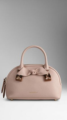 The Small Bloomsbury in Grainy Leather | Burberry This is the ultimate feminine bag! Perfect with a LBD.