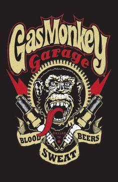 gasmonkey  div. maten