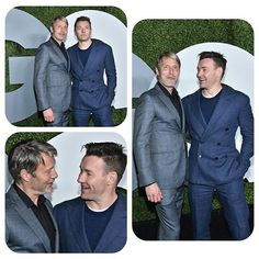 2016 GQ Men of the Year Party - Arrivals Actors Mads Mikkelsen and Joel Edgerton attend the 2016 GQ Men of the Year Party at Chateau Marmont on December 8, 2016 in Los Angeles, California. @GettyImages #MadsMikkelsen #JoelEdgerton #GQ #GQMenoftheYearParty2016 #ChateauMarmont #LosAngeles #California