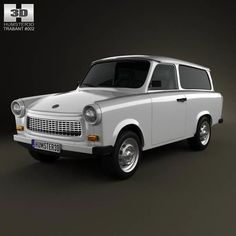 Model: Trabant 601 Kombi 1965 ~ Buy Now Volkswagen Routan, Boyfriend Crafts, 3d Models, Photo Craft, Automatic Transmission, Pure Products, Vehicles, Crime, Cars