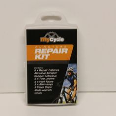 MY CYCLE PUNCTURE REPAIR KIT BIKE BICYCLE PATCHES ADHESIVE CYCLIST TOOLS