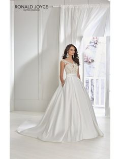 cde301bed2a0 Ronald Joyce Wedding Dresses, Designer Wedding Dresses, Bridal Dresses,  Victoria Dress, Mori