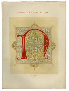 Paleografia Artistica di Montecassino, 1876 via kindra_is_here's photostream on Flickr.