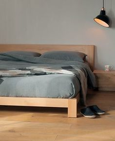 Java bed from Natural Bed Company | Low Bed - http://www.naturalbedcompany.co.uk/shop/contemporary-beds/java-wooden-bed/