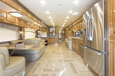 2015 Tuscany Luxury Diesel Motorhomes: Class A Diesel Pusher by Thor Motor Coach Luxury Rv, Luxury Yachts, Luxury Interior, Interior Ideas, Luxury Life, Mobile Living, Rv Living, Rv Motorhomes, Luxury Motorhomes