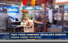 Tech Company Develops Robots to Replace $15 /Hr Workers – Can Produce 1 Burger Every 10 Seconds  Jim Hoft Jul 23rd, 2015