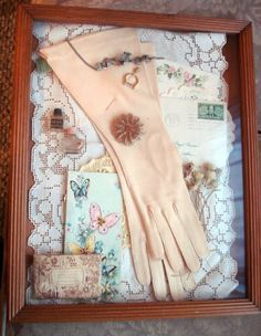 shadow box vintage