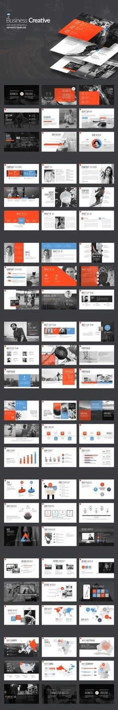 Business Creative Keynote. Presentation Templates