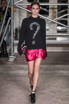 Moschino Cheap and Chic. London fashion week 2013.