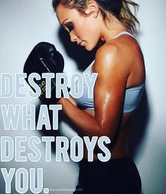 Destroy what destroys you!