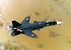 Sukhoi Berkut - Russian experimental supersonic jet fighter developed by Sukhoi Aviation Corporation. Sukhoi Su 47, Military Jets, Military Aircraft, Air Fighter, Fighter Jets, Russian Fighter, Russian Air Force, Aircraft Design, Aircraft Pictures