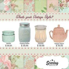 What's your vintage Scentsy style?