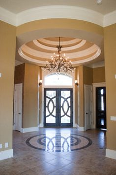 A Bold Entrance - traditional - Entry - Other Metro - Designs Unlimited