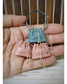 2017, Bags♡ ♡ By Mydollhouse #miniaturebag #miniarurehandbag #miniaturelouisvuitton
