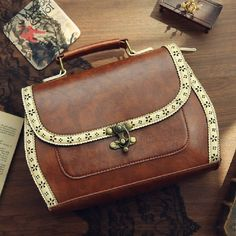 2013 spring and autumn fashion preppy style cutout carved vintage document women's handbag-inShoulder Bags from Luggage & Bags on Aliexpress... US $41.22