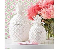 Two's Company: Dosen-Set Pineapple Jars, 2-tlg.