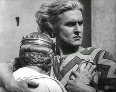 Margarete Schön and Paul Richter in Die Nibelungen: Siegfried directed by Fritz Lang, 1924