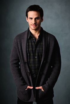 Colin O'Donoghue - Captain Hook He is Irish, and that is just not fair.