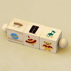 деревянных блоков игрушки